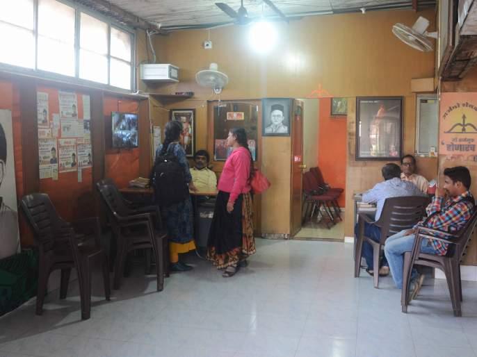 MNS, BJP crowded into office | मनसे, भाजप कार्यालयात वाढली गर्दी