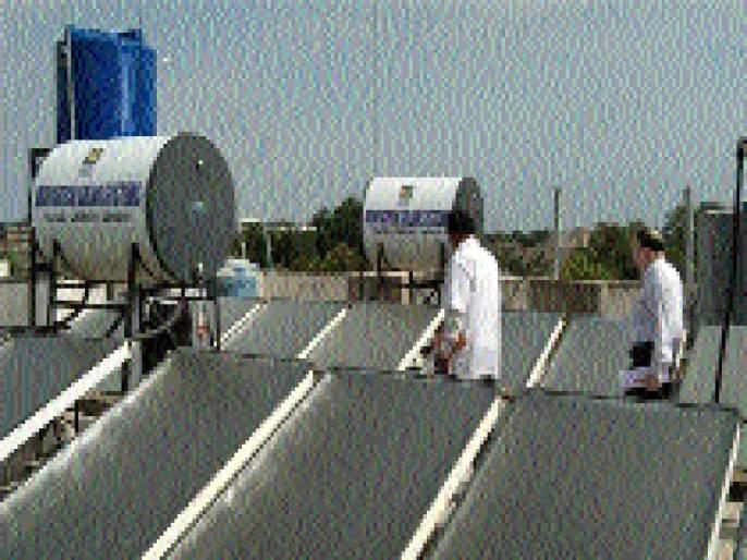 Jalna District Hospital has started a 2 kW solar power plant | जालना जिल्हा रूग्णालयातील १०० किलो व्हॅटचा सौर ऊर्जा प्रकल्प झाला सुरू