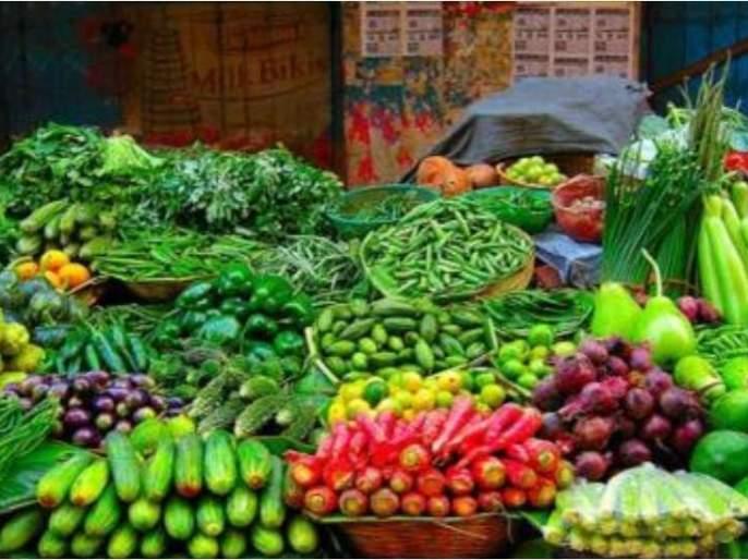 Declining leafy vegetables: fenugreek, shepu, cilantro | पालेभाज्यांचे घसरल्या : मेथी, शेपू, कोथिंबीर रुपया जुडी