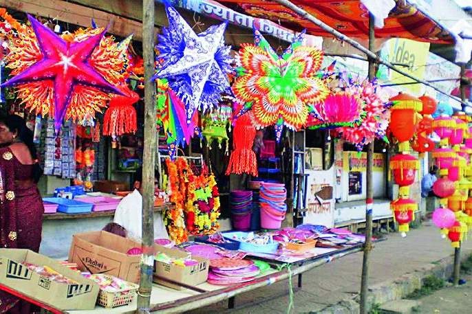 Elections affect the purchase of Diwali | निवडणुकीमुळे दिवाळीच्या खरेदीवर परिणाम