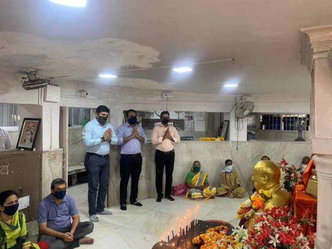 Followers should not come to Chaityabhoomi on Mahaparinirvana Din this year against the backdrop of Corona infection | कोरोना संसर्गाच्या पार्श्वभूमीवर यंदा महापरिनिर्वाण दिनी चैत्यभूमी येथे अनुयायांनी येऊ नये