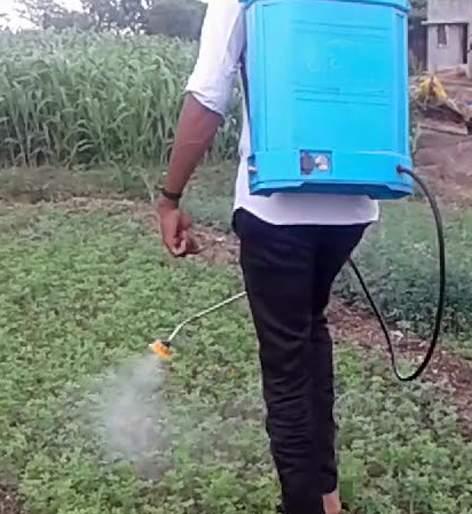 Pesticide poisoning to farmers | ४४ शेतकऱ्यांना कीटकनाशकांची बाधा