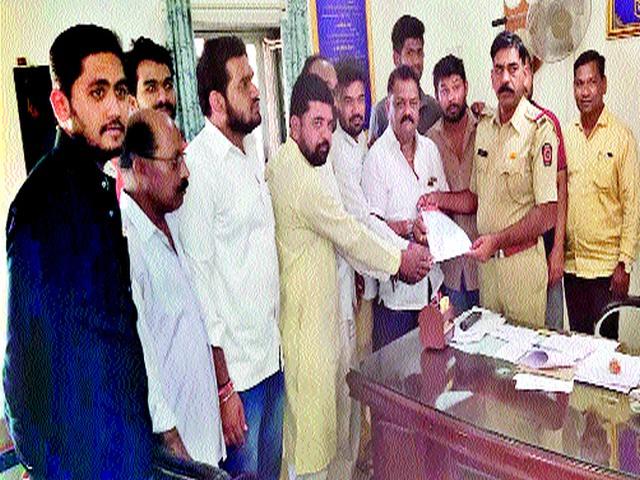 'File a case against Varis Pathan' | 'वारीस पठाण यांच्यावर गुन्हा दाखल करा'