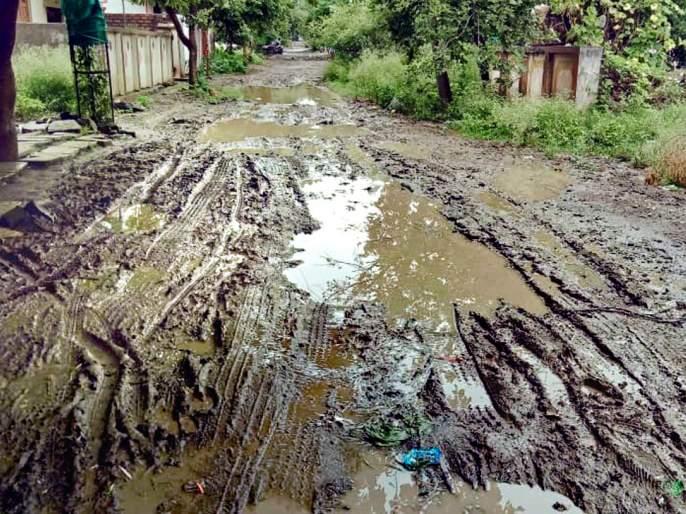 The roads in Parbhani have been badly damaged | परभणीतील रस्त्यांची झाली दुरवस्था