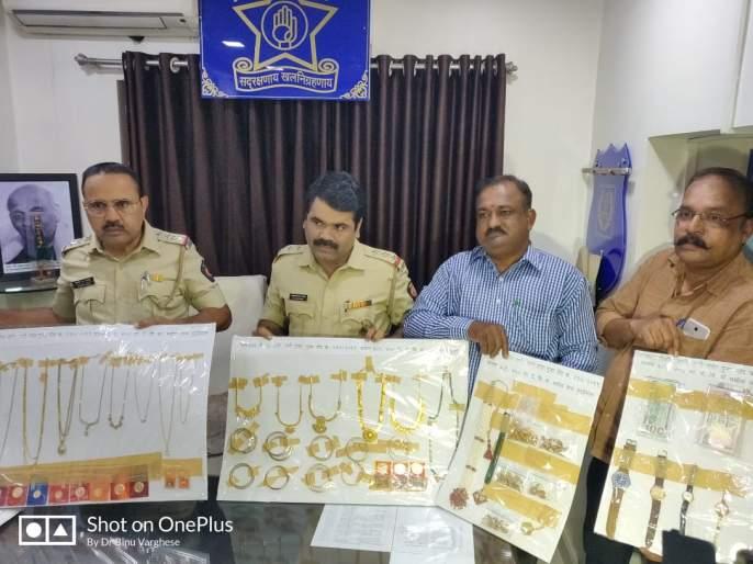 Jharkhand accused arrested in a theft that broke out in Thane   ठाण्यात चोरी करून पसार झालेल्या चोरट्याला झारखंडमधून अटक