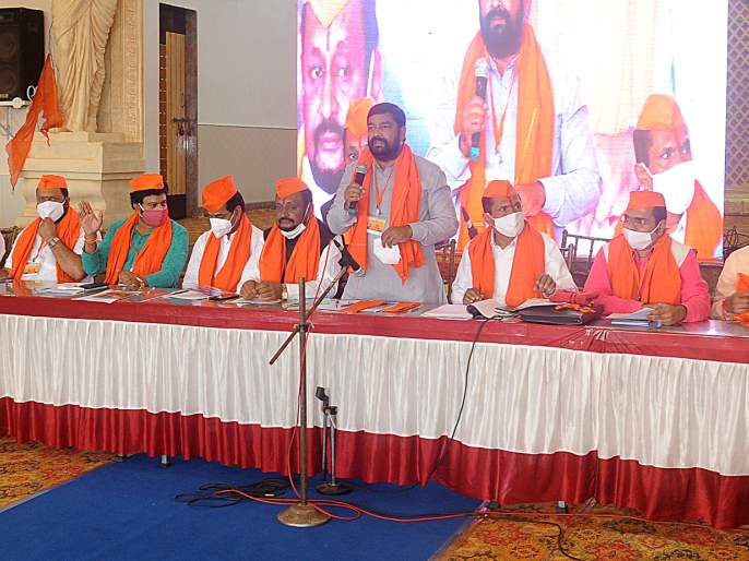 Maratha reservation battle should be won only by the weapons of law: Sambhaji Raje   मराठा आरक्षण लढाई कायद्याच्या शस्त्रांनीच जिंकावी: संभाजीराजे