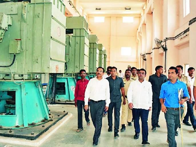 Guardian Minister inspects Nerla Upas irrigation scheme | नेरला उपसा सिंचन योजनेची पालकमंत्र्यांनी केली पाहणी