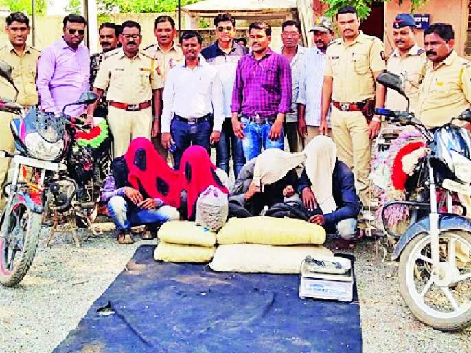 3 kg of marijuana seized in Lakhani | लाखनीत ४० किलो गांजा जप्त