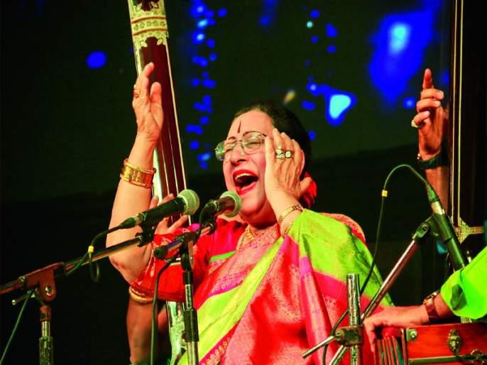 As long as there is a Hindustan, the music will survive : Begam Parvin Sultan | हिंदुस्थान असेल तोपर्यंत संगीत जिवंत राहील : बेगम परवीन सुलताना