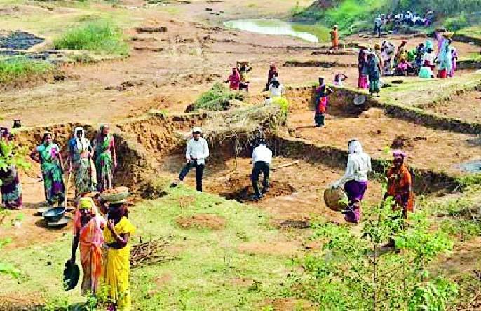60 lakh man has never got work | ६० लाख मनुष्य दिवस काम मिळालेच नाही
