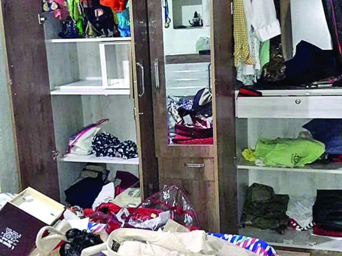 Policeman's bungalow explodes in Bamanoli | बामणोलीत भरदिवसा पोलिसाचा बंगला फोडला