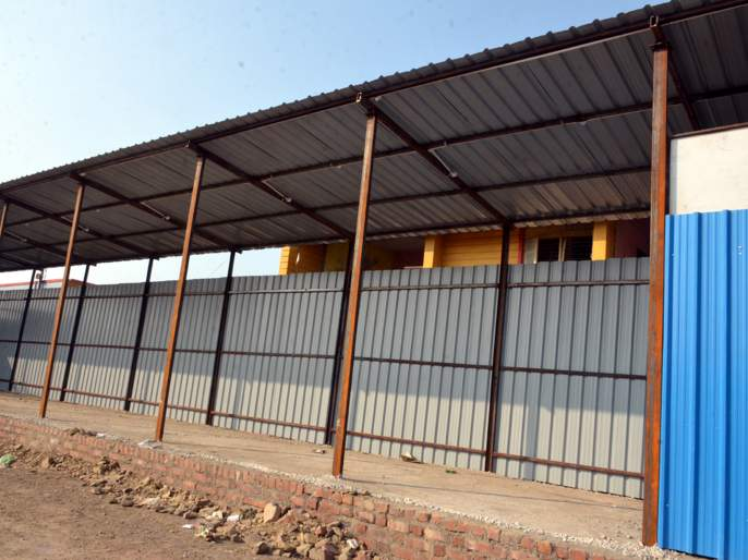 The pace of the busport in Parbhani did not come | परभणीतील बसपोर्टच्या कामाला येईना गती