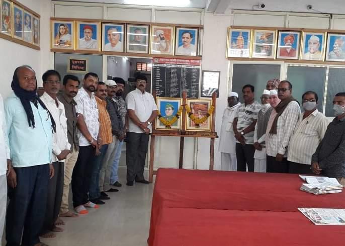 Netaji Bose Jayanti celebrations in Satna | सटाण्यात नेताजी बोस जयंती साजरी