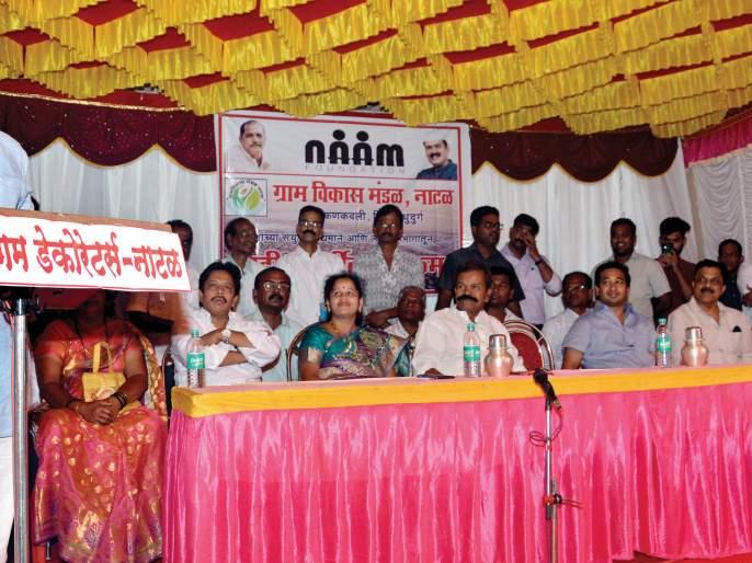 Sindhudurg: The power of the wrists is our caste: Nana Patekar   सिंधुदुर्ग : मनगटातील ताकद हीच आपली जात: नाना पाटेकर