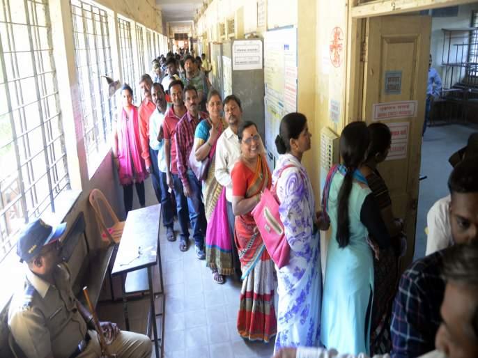 53 to 55 percent voting in pune and 60 percent voting in baramati : district commissioner | पुण्यात अंदाजे 53 ते 55 आणि बारामतीमध्ये 60 टक्क्याहून अधिक मतदान : जिल्हाधिकारी