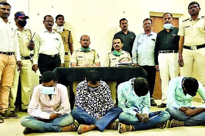 Gang Areseted cheats by showing girls for marriage | लग्नासाठी मुली दाखवून फसवणूक करणाऱ्या टाेळीला ठाेकल्या बेड्या