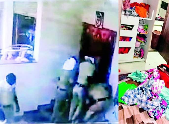 Police raid Sarpanch's house | सरपंचाच्या घराची पोलिसांकडून झडती