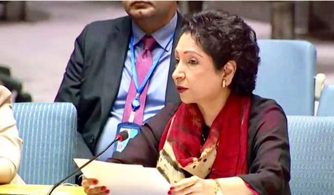 Video: You are a thief ... Pakistani citizen allegation on Maliha Lodhi in UN | Video : तुम्ही चोर आहात...यूएनमध्ये पाकिस्तानी अधिकारी मलीहा लोधींना नागरिकाने सुनावले