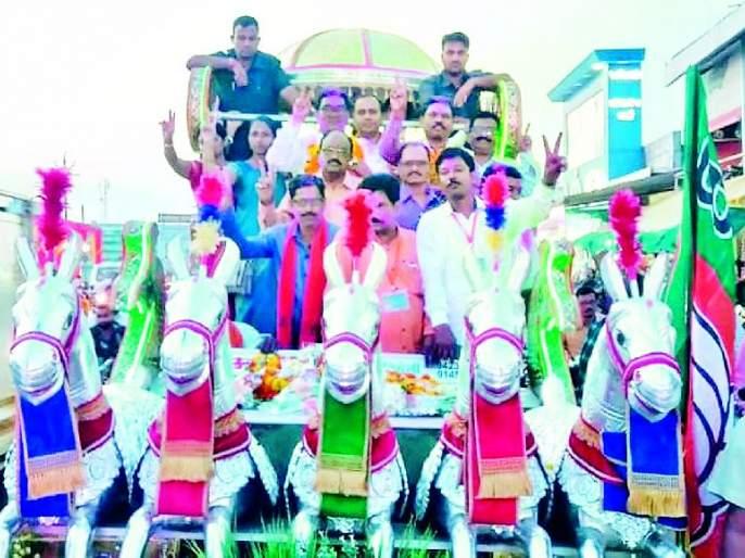 Maharashtra Election 2019 ; BJP's success in maintaining Gadchiroli-Armoori stronghold; | Maharashtra Election 2019 ; गडचिरोली-आरमोरीचा गड राखण्यात भाजपला यश, अहेरीत राष्ट्रवादीची मुसंडी, पराभवाचा वचपा काढला