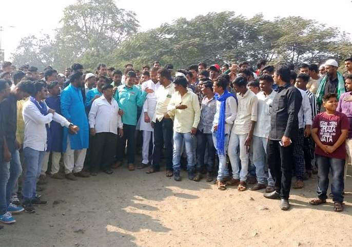 Rally in Bhokardan city; Market jam   भोकरदन शहरात मोर्चा; बाजारपेठ ठप्प