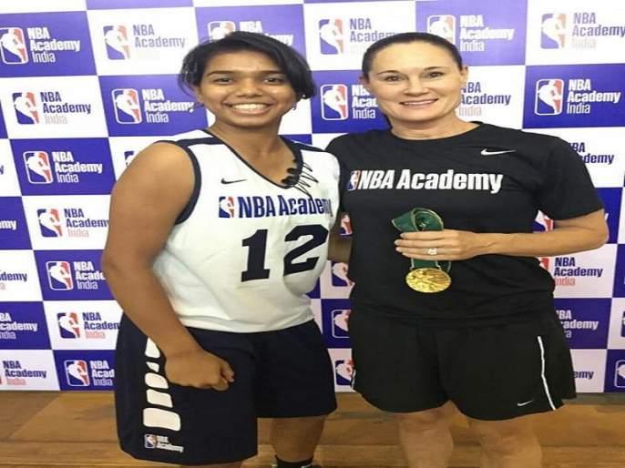 Aurangabad's pleasure to be selected for NBA camp | औरंगाबादच्या खुशीची एनबीए शिबिरासाठी निवड