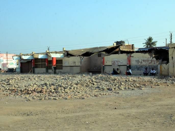 Parbhani: Waiting for 'NOC' for busport work | परभणी : बसपोर्ट कामास 'एनओसी'ची प्रतीक्षा