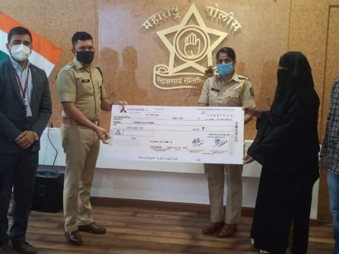 30 lakh assistance to Sangli police family | सांगलीत पोलिसाच्या कुटुंबाला ३० लाखांची मदत