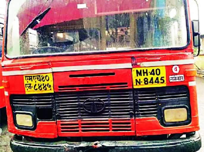 The drunk driver left the bus | मद्यधुंद चालक बस सोडून पळाला