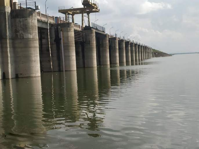 3% water reservoir in Majalgaon Dam   माजलगाव धरणात ५३ टक्के पाणीसाठा