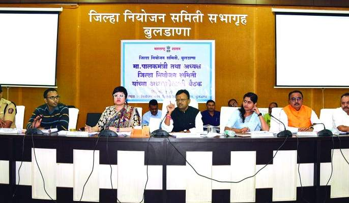 Approval of 'DPC' for an annual draft of Rs 357 crore   ३५७ कोटींच्या वार्षिक प्रारूप आराखड्यास 'डीपीसी'ची मान्यता