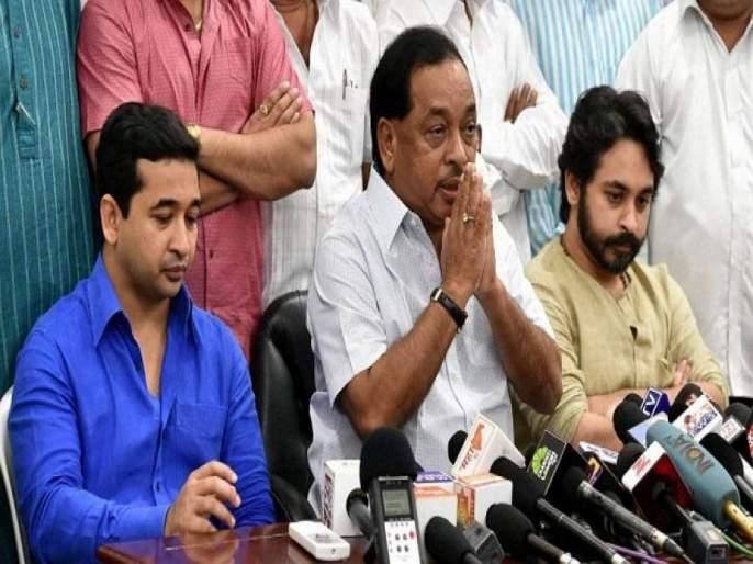 Maharashtra Election 2019: ... but I will do it from the front; Disagreement between Narayan Rane sons? | Maharashtra Election 2019: ...पण वार मी समोरुनच करणार; राणे पुत्रांमधील मतभेद चव्हाट्यावर?