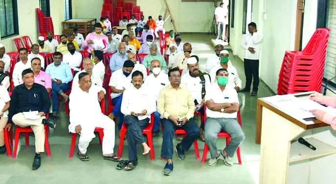Sinnar opposes closure of merchant bank | सिन्नर व्यापारी बँक बंद करण्यास विरोध