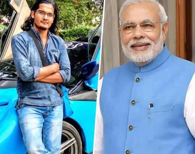 12th student who inspired by Modi build unique Sports car | मोदींपासून प्रेरणा घेत 12 वीच्या विद्यार्थ्याने बनविली स्पोर्ट्स कार; फिचर्सही आहेत भन्नाट