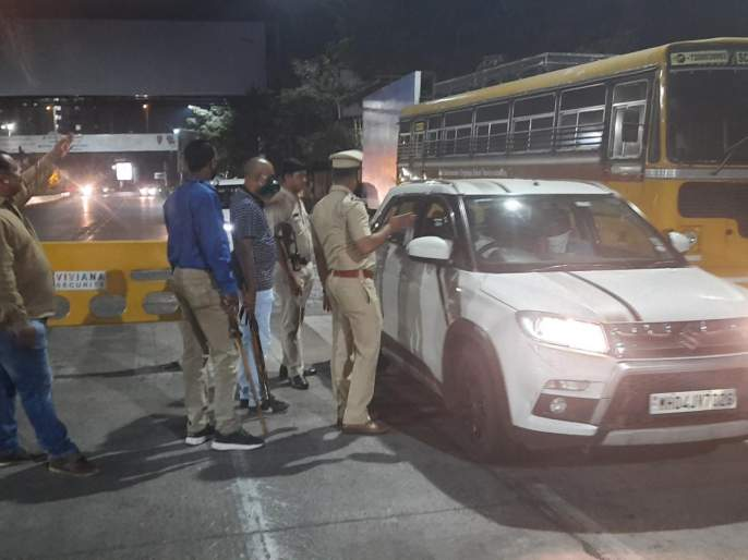 CoronaVirus : Police seized 206 vehicles in Kalyan Ulhasnagar during lockdown pda | CoronaVirus : लॉकडाऊनदरम्यान पोलिसांची धडक कारवाई, कल्याण उल्हासनगरमधून२०६ गाड्या जप्त