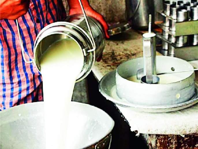 So take action on the 'that' dairy and sales team | तर 'त्या' डेअरी आणि विक्री संघावर कारवाई करा