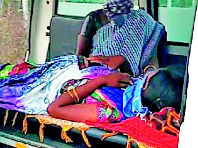 Prevention of pregnancy by Telangana administration | तेलंगणा प्रशासनाकडून गर्भवतीची अडवणूक
