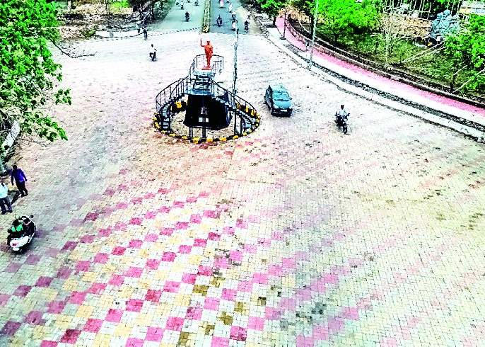 Sevagram development plan blossomed the city's beauty   सेवाग्राम विकास आराखड्यामुळे शहराचे सौंदर्य फुलले