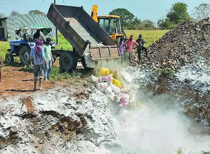 33,500 hens in Bhankheda area destroyed scientifically | भानखेडा परिसरातील ३३,५०० कोंबड्या शास्त्रोक्त पद्धतीने नष्ट
