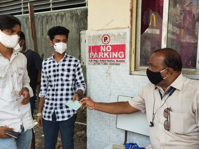 If the mask is not worn, the road will have to be cleaned   मास्क घातला नाही तर रस्तास्वच्छ करावा लागणार