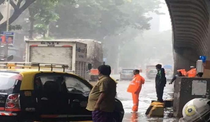 Mumbai receives 90 millimeters of rain; A torrential downpour in Raigad with Thane, Palghar | मुंबईत रविवारी ११९ मिलीमीटर पाऊस; ठाणे, पालघरसह रायगडमध्ये मुसळधार