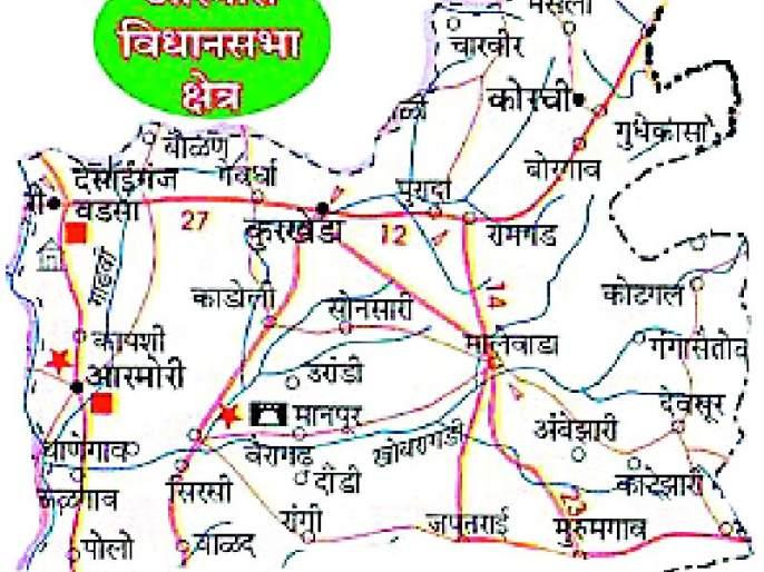 The Armory area in the Lok Sabha is always on the BJP side   लोकसभेत आरमोरी क्षेत्र नेहमीच भाजपच्या बाजूने