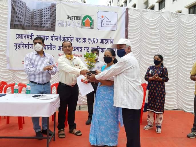 Pradhan Mantri Awas Yojana; MHADA has started the process of handing over 306 flats | प्रधानमंत्री आवास योजना; म्हाडातर्फे ३०६ सदनिकांचा ताबा देण्याची कार्यवाही सुरु