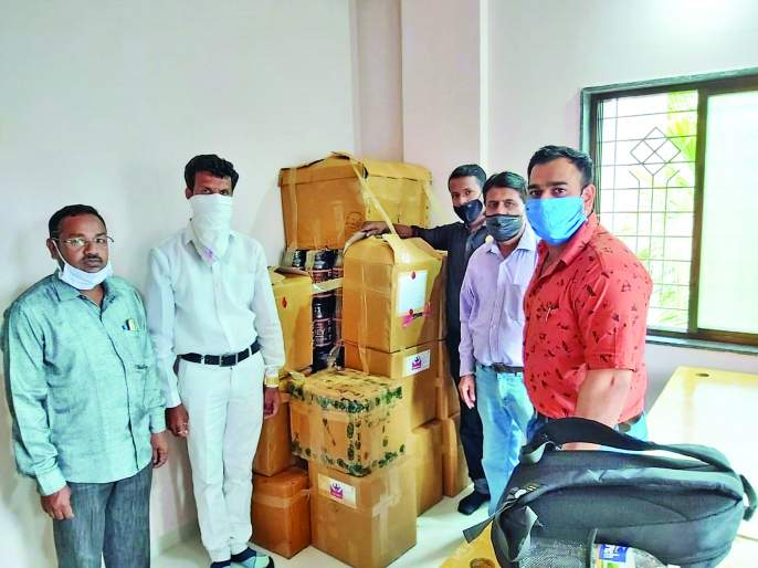 Suspicion of forgery: Raid on a drug company in Tasgaon | भेसळीचा संशय : तासगावात औषध कंपनीवर छापा