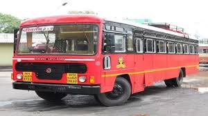 Pimpalgaon depot's Lalpari service starts smoothly .... | पिंपळगाव आगाराची लालपरीची सेवा सुरळीत सुरू....