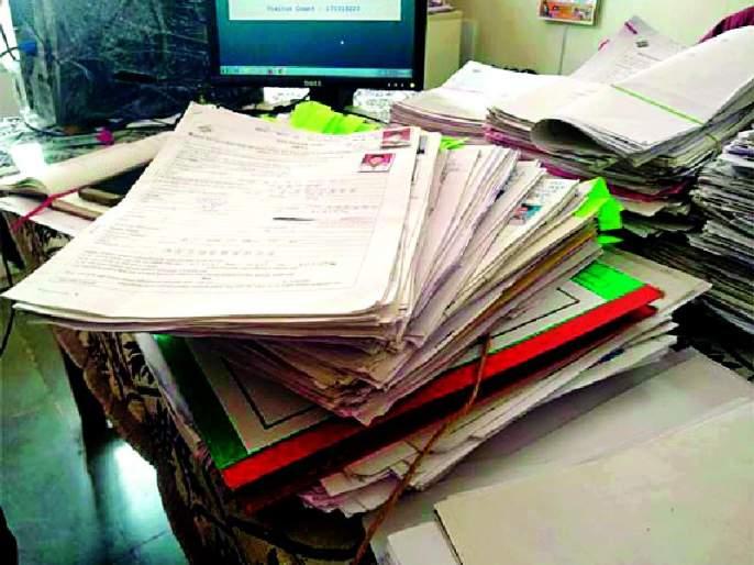 Errors found in 757 applications | ७५७ अर्जांमध्ये आढळल्या त्रुटी