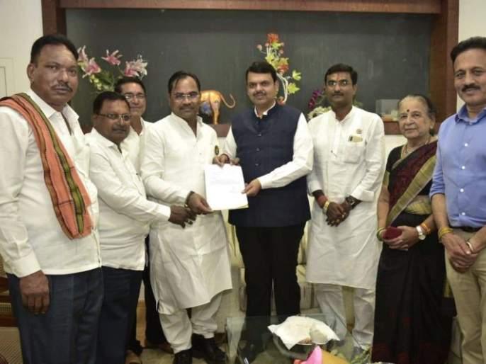 Chandrapur's independent MLA Kishore Jorgewar supports Mahayuti | चंद्रपूरचे अपक्ष आमदार किशोर जोरगेवार यांचे महायुतीला समर्थन