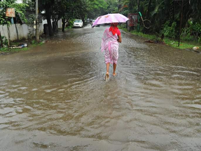Rainfall Rest: Heavy rainfall in only four talukas | पावसाची विश्रांती: अवघ्या चार तालुक्यात तुरळक पाऊस