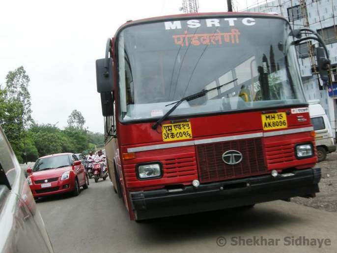 Possibility of permanent closure of city ST buses | शहर एस.टी बसेस कायमस्वरुपी बंदची शक्यता