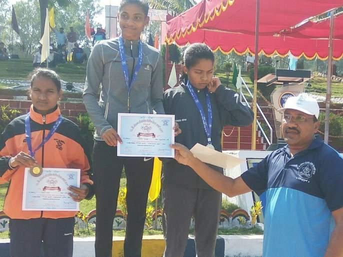 Personal sports events; The satisfying play of Sindhudurg, Raigad | वैयक्तिक क्रीडा स्पर्धा ; सिंधुदुर्ग, रायगडची समाधानकारक खेळी
