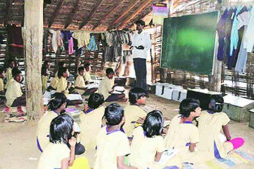 Teaching in 139 ashram schools from tomorrow   १३९ आश्रम शाळांमध्ये उद्यापासून अध्यापन